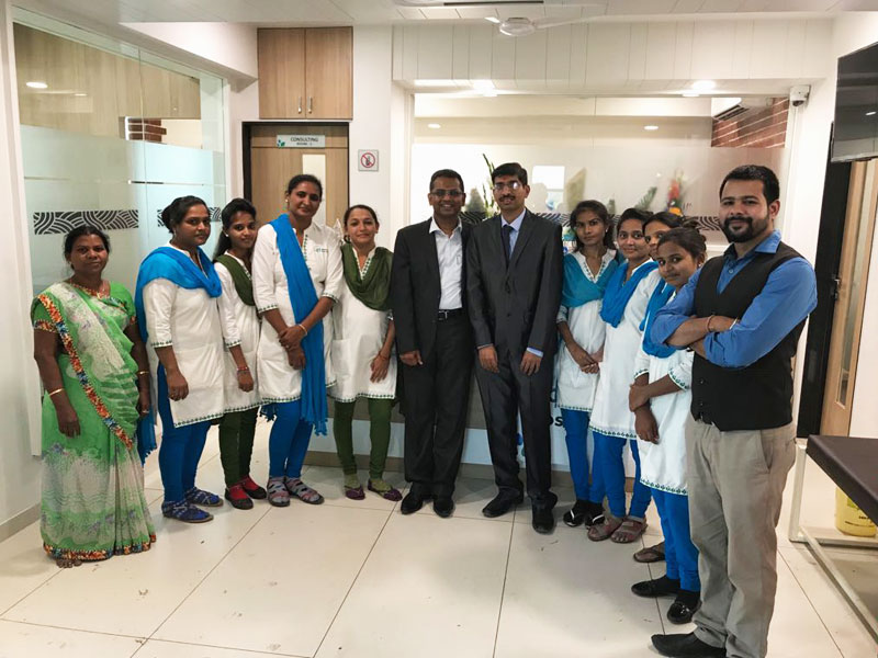 staff of Bharti ENT Care Hospital
